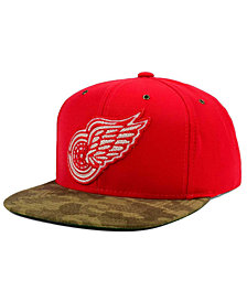 CCM Detroit Red Wings Fashion Camo Snapback Cap
