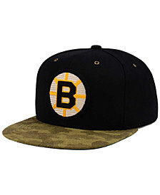 CCM Boston Bruins Fashion Camo Snapback Cap