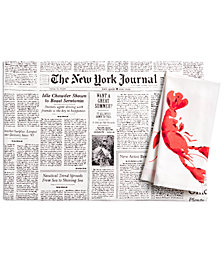 kate spade new york Lobster and Newspaper Table Linens