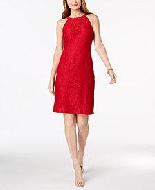 Nine West Beaded Lace Dress