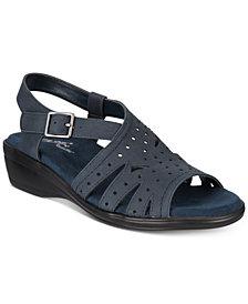 Easy Street Roxanne Wedge Sandals