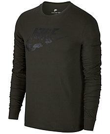Nike Men's Sportswear Printed-Logo T-Shirt