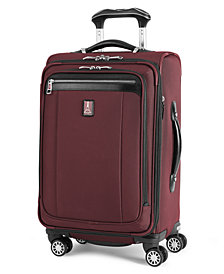 """CLOSEOUT! Travelpro Platinum Magna 2 21"""" Carry On Expandable Spinner Suitcase"""