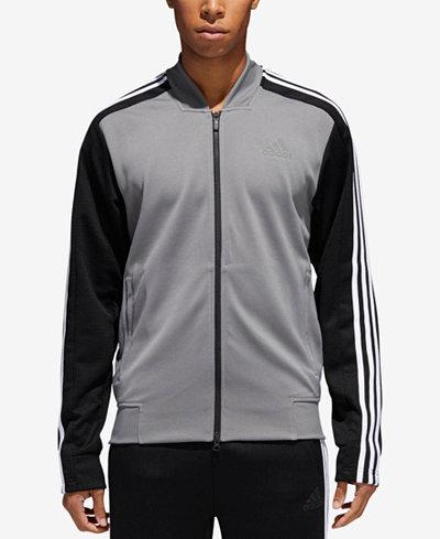 adidas Men's Colorblocked MX Bomber Track Jacket