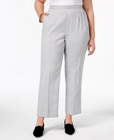 Alfred Dunner Plus Size Lakeshore Drive Collection Pull-On Pants