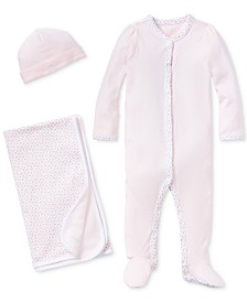 Ralph Lauren Baby Girls Coming Up Roses Ensemble