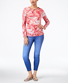 Thalia Sodi Embellished Top & Jeggings, Created for Macy's