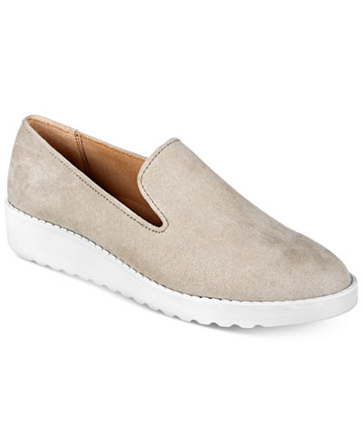 Alfani Women's Briellee Platform Slip-On Sneakers, Created For Macy's