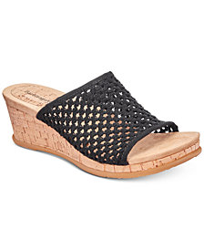 Baretraps Flossey Slip-On Wedge Sandals