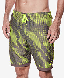 "Nike Men's Big & Tall Printed 9"" Swim Trunks"
