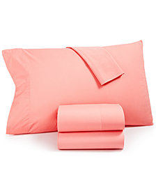 CLOSEOUT! Whim by Martha Stewart  Collection Vintage Wash 3-Pc.All Cotton 200 Thread Count Twin Sheet Set, Created for Macy's