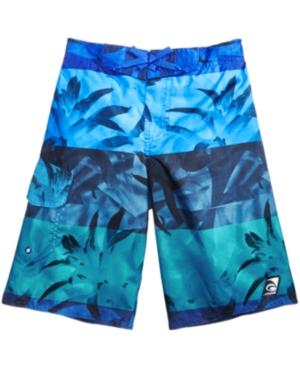 Laguna Excala Moana Printed Swim Trunks Big Boys (820)