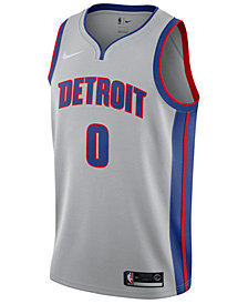 Nike Men's Andre Drummond Detroit Pistons Statement Swingman Jersey