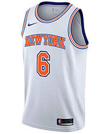 Nike Men's Kristaps Porzingis New York Knicks Statement Swingman Jersey