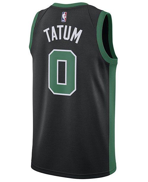 new style ebe9d 0a47c Men's Jayson Tatum Boston Celtics Statement Swingman Jersey