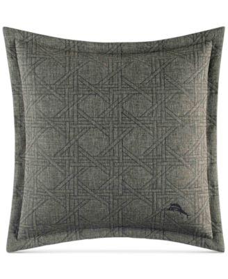 """Palms Away 18"""" x 18"""" Linen Decorative Pillow"""