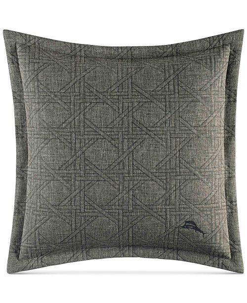 Tommy Bahama Home CLOSEOUT Palms Away 40 X 40 Linen Decorative New Tommy Bahama Decorative Pillows
