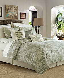 CLOSEOUT! Tommy Bahama Home Palms Away 4-Pc. Queen Comforter Set