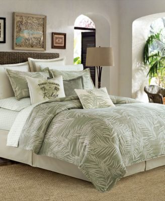 Evoke Memories Of Relaxing In Tropical Paradise With The Palms Away Bedding  Collection From Tommy Bahama Home Tommy Bahama Furniture83