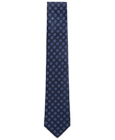 BOSS Men's Square Jacquard Silk Tie