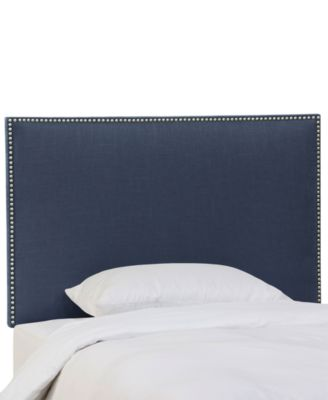 Paiton King Headboard with Nailhead Trim, Quick Ship