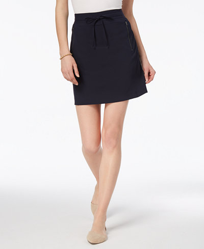 Charter Club A-Line Zip-Pocket Skort, Created for Macy's