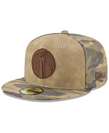 New Era Washington Wizards Butter So Camo 59FIFTY Fitted Cap