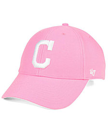 '47 Brand Cleveland Indians Pink Series Cap