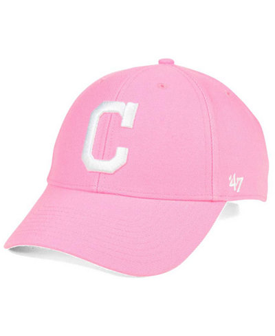 '47 Brand Cleveland Indians Pink Series Cap