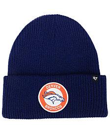 '47 Brand Denver Broncos Ice Block Cuff Knit Hat