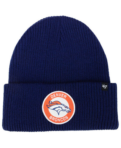 '47 Brand Denver Broncos Ice Block Cuff Knit Hat