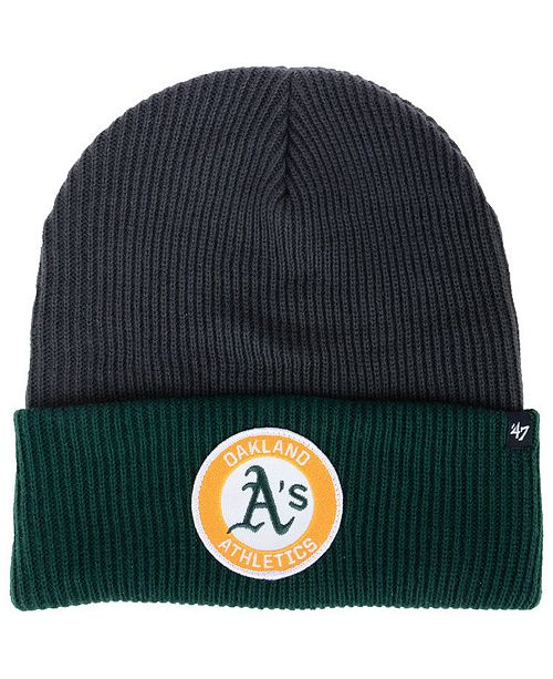competitive price 32362 68971 ...  47 Brand Oakland Athletics Ice Block Cuff Knit Hat    ...