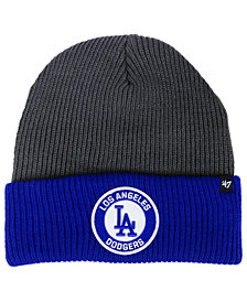 '47 Brand Los Angeles Dodgers Ice Block Cuff Knit Hat