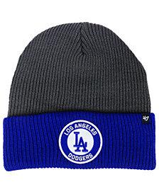 '47 Brand Los Angeles Dodgers Ice Block Cuff Knit Hat