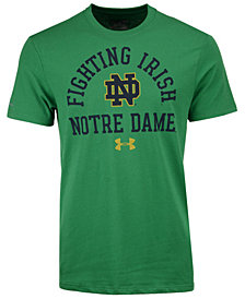 Under Armour Men's Notre Dame Fighting Irish Lead Block Charged T-Shirt