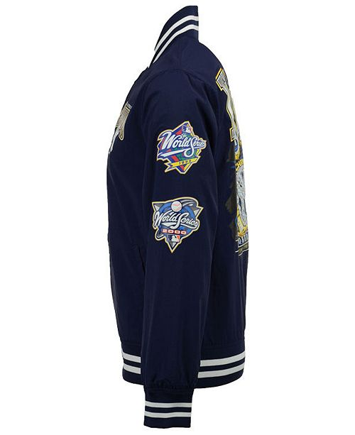 df0476984 Mitchell   Ness Mitchell and Ness Men s New York Yankees Team History Warm  Up Jacket ...