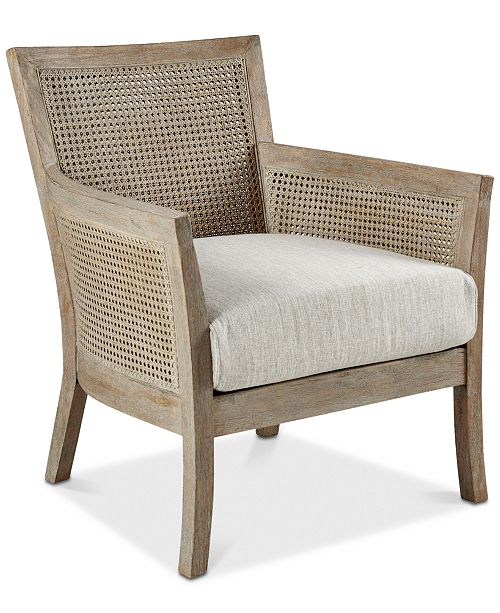 Madison Park Ethan Accent Chair, Quick Ship