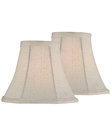 "Lite Source Set of 2 Clip-on 6"" Chandelier Shade"