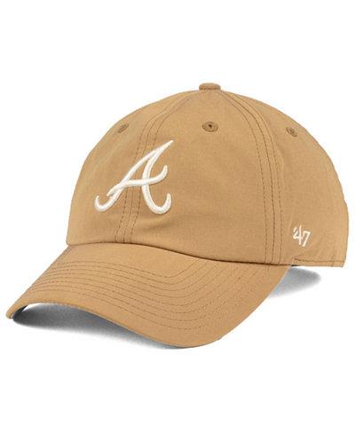 '47 Brand Atlanta Braves Harvest CLEAN UP Cap
