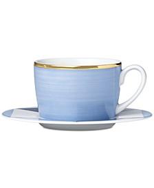 Luca Blue Azzurro Cup & Saucer