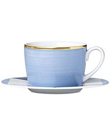 Lenox Luca Blue Azzurro Cup & Saucer