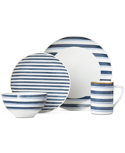 Lenox Luca Striato 4-Pc. Place Setting