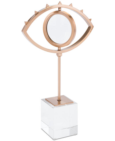 Zuo Eye Sculpture with Stand
