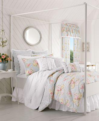 Stella 4-Pc. Floral Print King Comforter Set