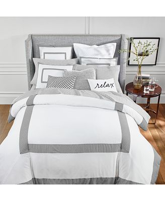 Colorblock Black Bedding Collection Created For Macy S