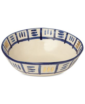 Lenox-Wainwright Pompeii Blu Sky Medium Serving Bowl, Created for Macy's