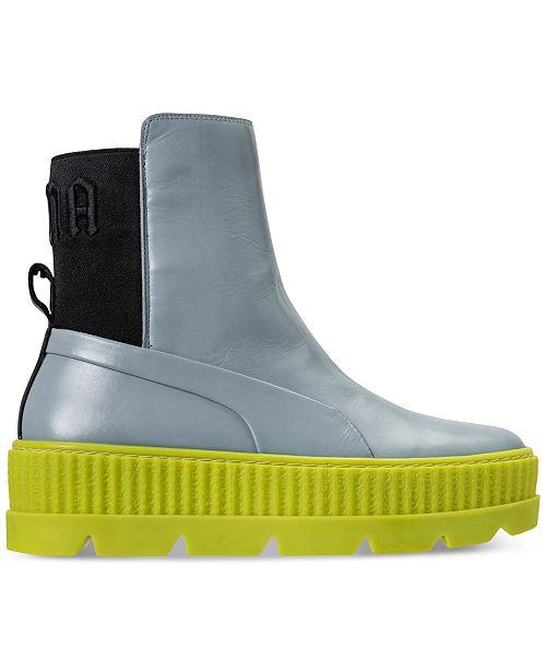 c791c7a60b3 Puma Women s Fenty x Rihanna Chelsea Sneaker Boot from Finish Line ...