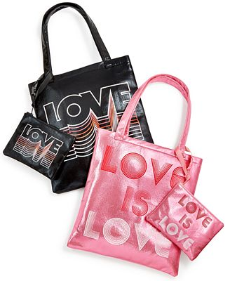 Celebrate Shop Love Tote & Pouch