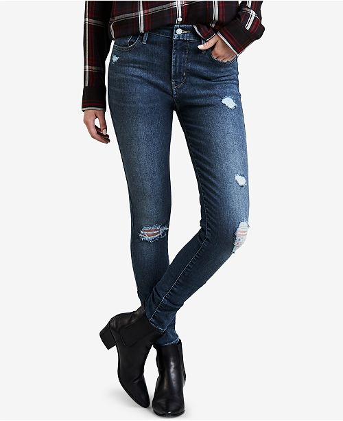 b5c51ae2aec6a Levi s 720 High-Rise Super-Skinny Ripped Jeans   Reviews - Jeans ...