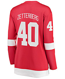 Fanatics Women's Henrik Zetterberg Detroit Red Wings Breakaway Player Jersey
